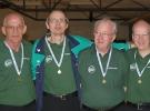 Pulje C Herre Guldmedalje. Kurt N, Jørgen Li, Bent og Jørgen A