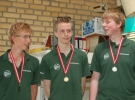 Kasper Larsen, Claus Kornum og Alexander O Lillie
